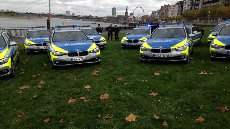 Polizei fährt jetzt BMW (Foto: SAT.1 NRW)