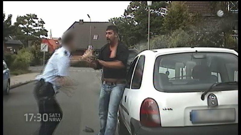 Anklage gegen Prügel-Polizisten (Foto: SAT.1 NRW)