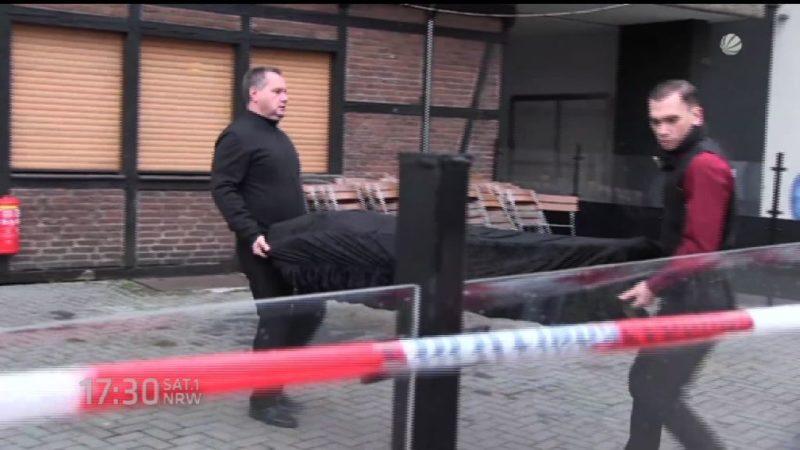 Schüsse in einer Kölner Kneipe (Foto: SAT.1 NRW)