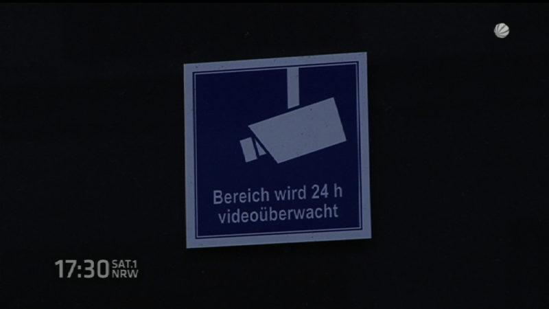 Ärger um Überwachungskamera (Foto: SAT.1 NRW)