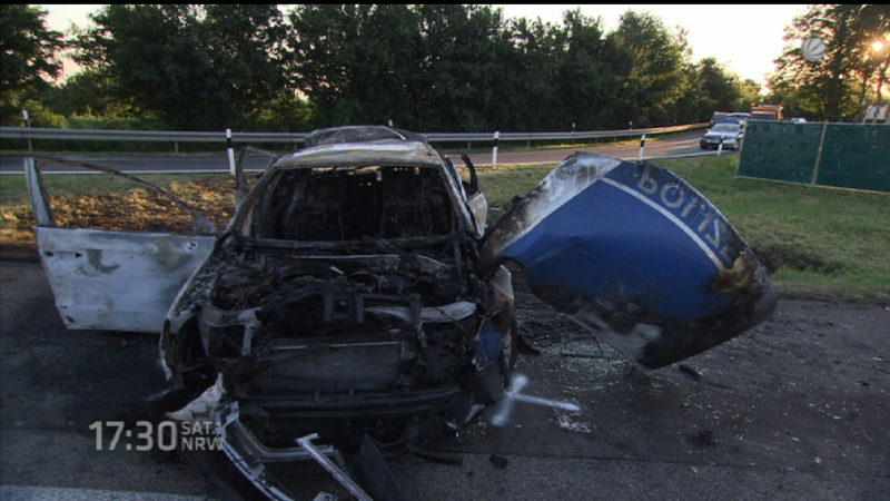 Anklage gegen LKW-Fahrer (Foto: SAT.1 NRW)