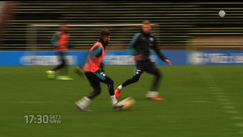 Schalke gegen Apoel Nikosia (Foto: SAT.1 NRW)