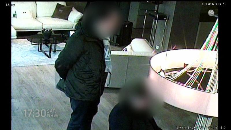 Ladenbesitzer sucht Diebe (Foto: SAT.1 NRW)