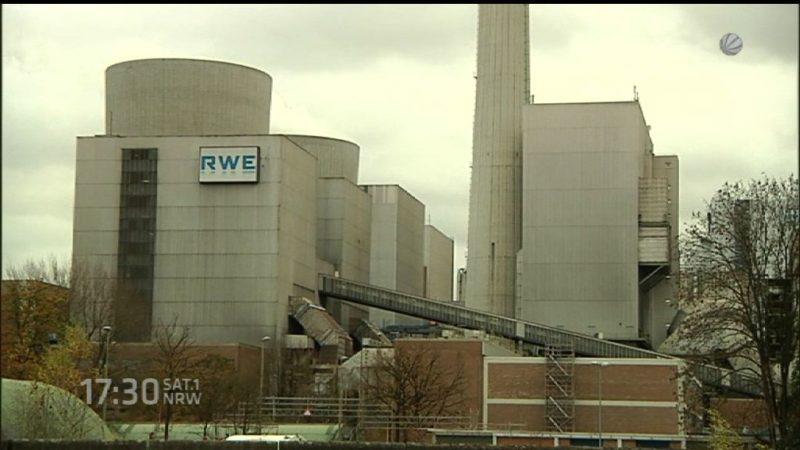 Millionen-Verluste durch Kraftwerk (Foto: SAT.1 NRW)