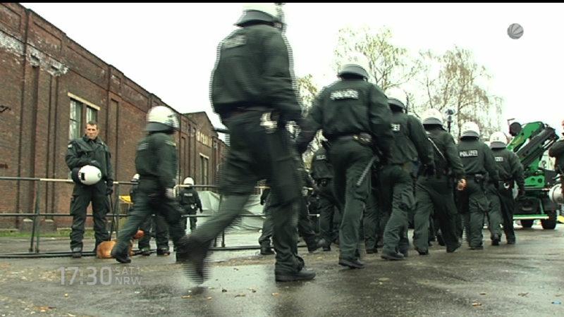 Studie zu Polizeigewalt startet (Foto: SAT.1 NRW)