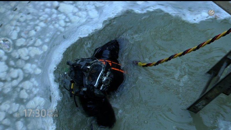 Nächster Halt: Unter Wasser (Foto: SAT.1 NRW)