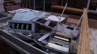 Geldautomat in Alstätte gesprengt! (Foto: SAT.1 NRW)