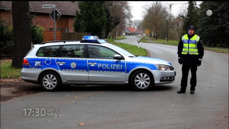 SEK-Einsatz in Rahden (Foto: SAT.1 NRW)