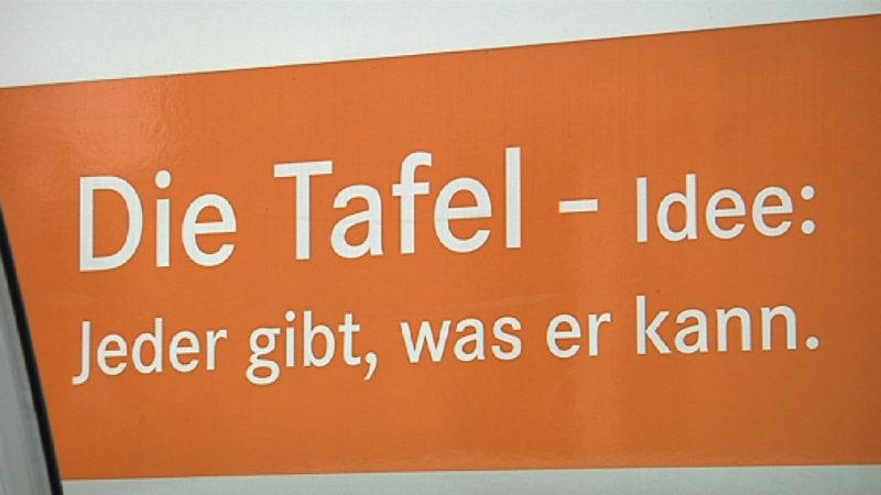Mehr los bei NRWs Tafeln (Foto: SAT.1 NRW)