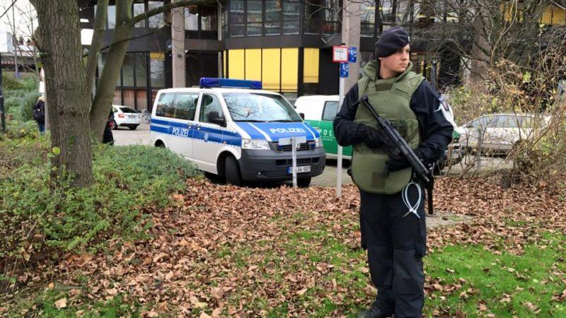 Bombendrohung an TU Dortmund! (Foto: SAT.1 NRW)