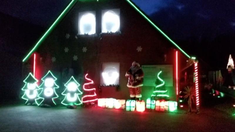 Castrop-Rauxels weihnachtlichste Haus (Foto: SAT.1 NRW)