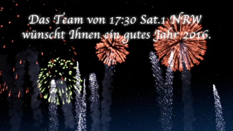 Hallo 2016! (Foto: SAT.1 NRW)