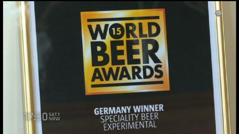 Das beste Bier der Welt kommt aus Detmold (Foto: SAT.1 NRW)