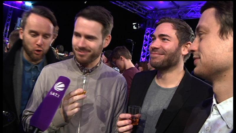 Stars auf der Krone-Party (Foto: SAT.1 NRW)