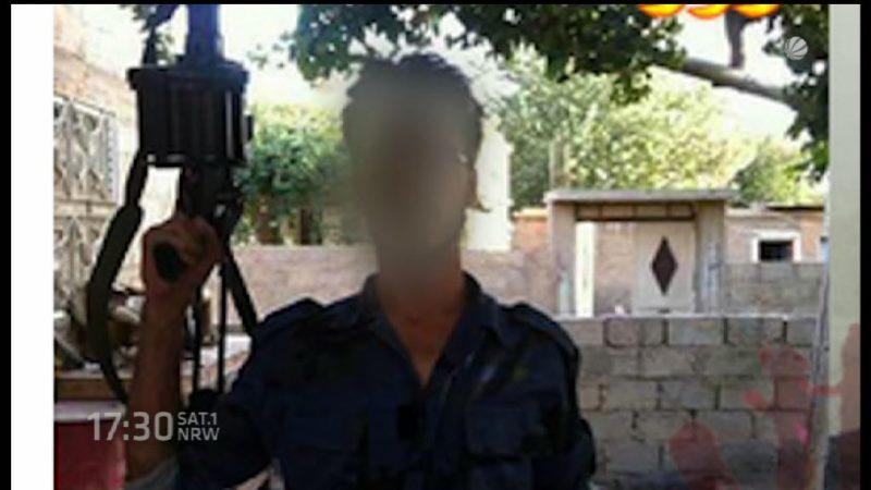 Terrorverdacht in Unna (Foto: SAT.1 NRW)