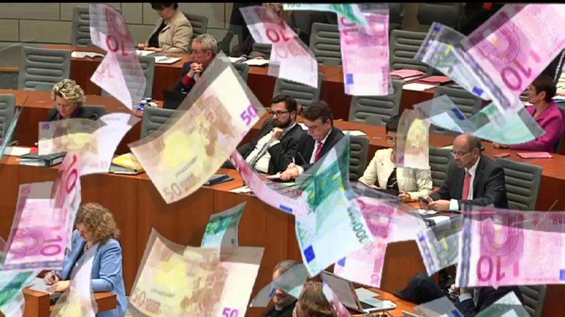 Mehr Geld für Minister (Foto: SAT.1 NRW)