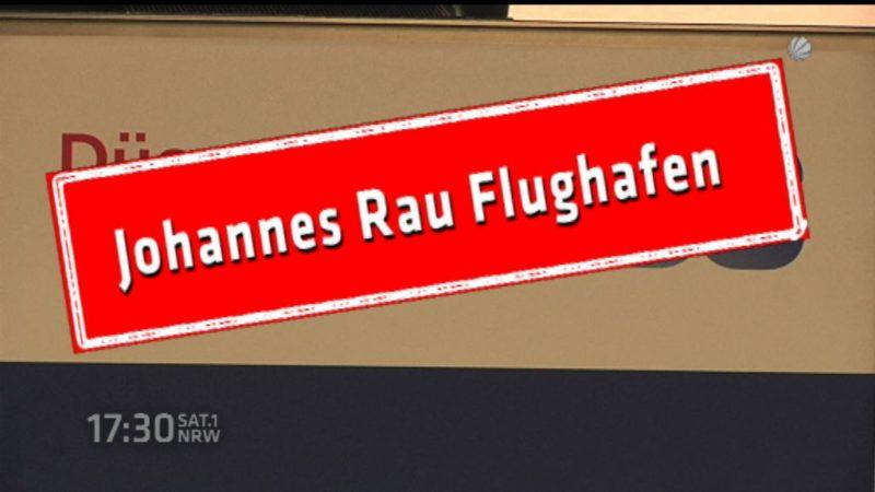 Johannes Rau Flughafen (Foto: SAT.1 NRW)