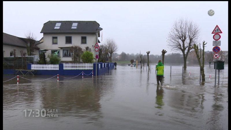 Regen in NRW (Foto: SAT.1 NRW)