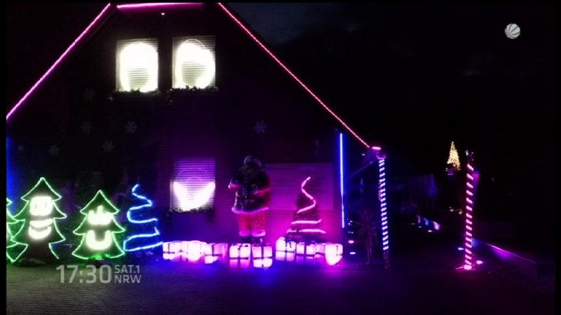 Weihnachtshaus mit eigenem Radiosender (Foto: SAT.1 NRW)