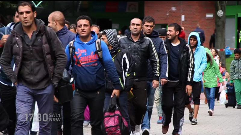 Flüchtlingskrise 2016 - schaffen wir das? (Foto: SAT.1 NRW)