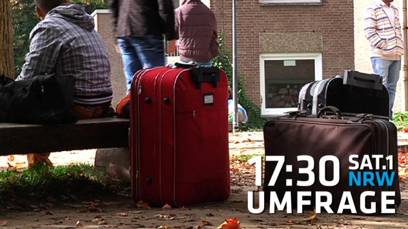 """Flüchtlinge: """"Wir schaffen das auch 2016"""" (Foto: SAT.1 NRW)"""