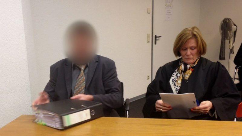 Prozess um abgeschnittene Krawatte (Foto: SAT.1 NRW)