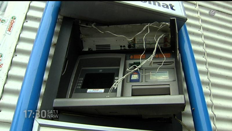 Automatenbande schlägt wieder zu (Foto: SAT.1 NRW)