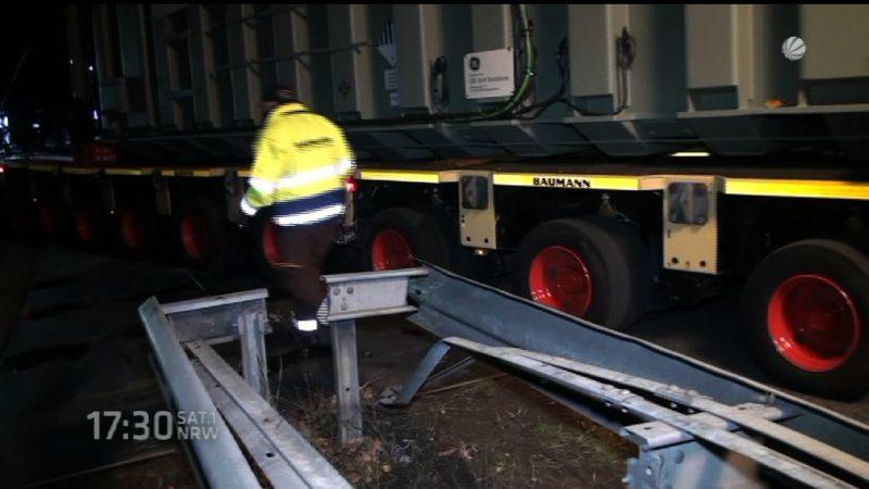 Truck zu dick (Foto: SAT.1 NRW)