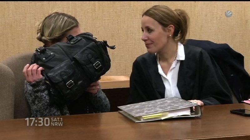 Freispruch im Baby-Prozess (Foto: SAT.1 NRW)
