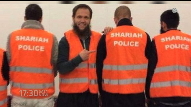 Strafverfahren gegen Scharia-Polizei abgelehnt (Foto: SAT.1 NRW)