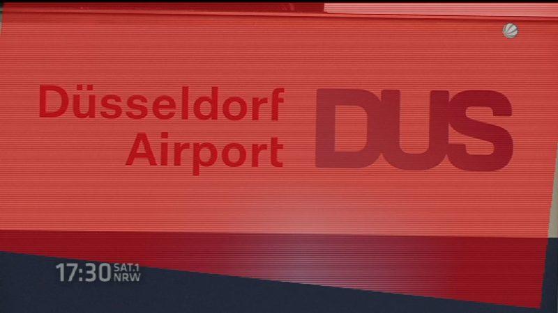 Düsseldorf Airport (Foto: SAT.1 NRW)