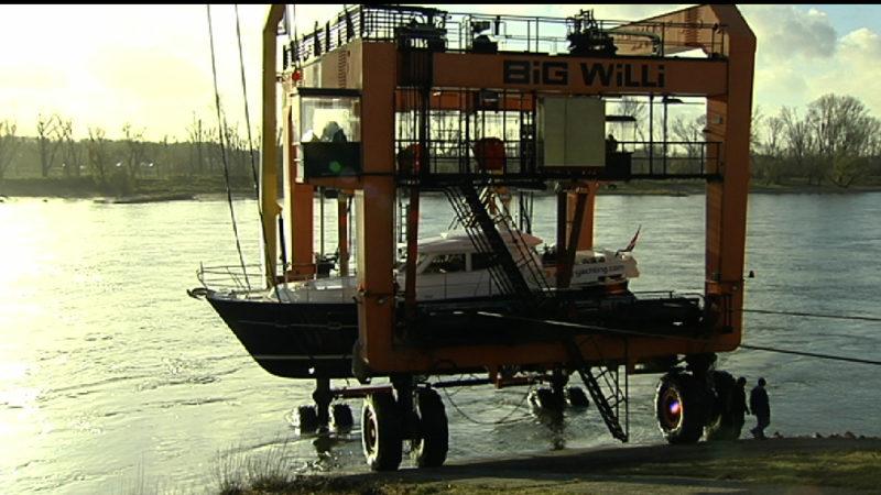 Yachten für Boot 2016 kommen an (Foto: SAT.1 NRW)