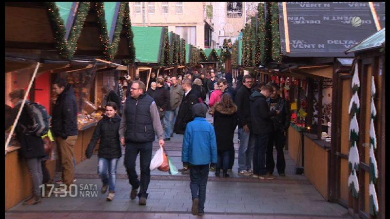 Weihnachtsmarkt-Bilanz (Foto: SAT.1 NRW)