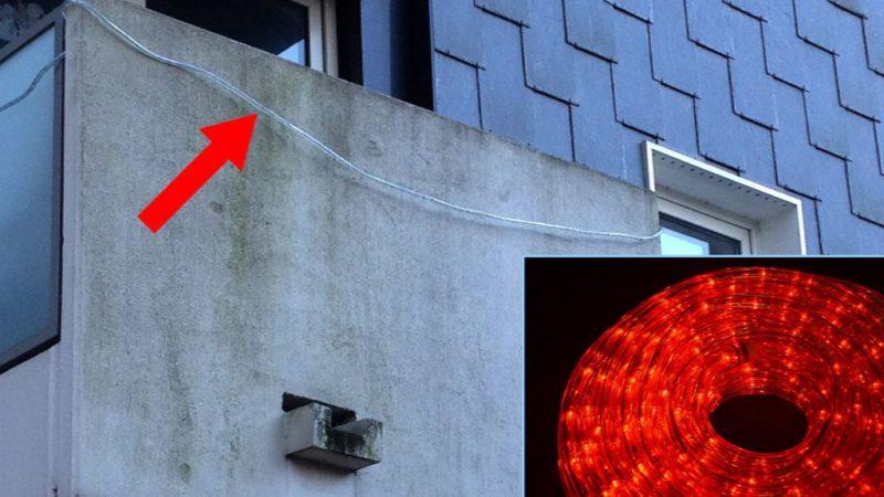 Streit um Lichterschlauch (Foto: SAT.1 NRW)