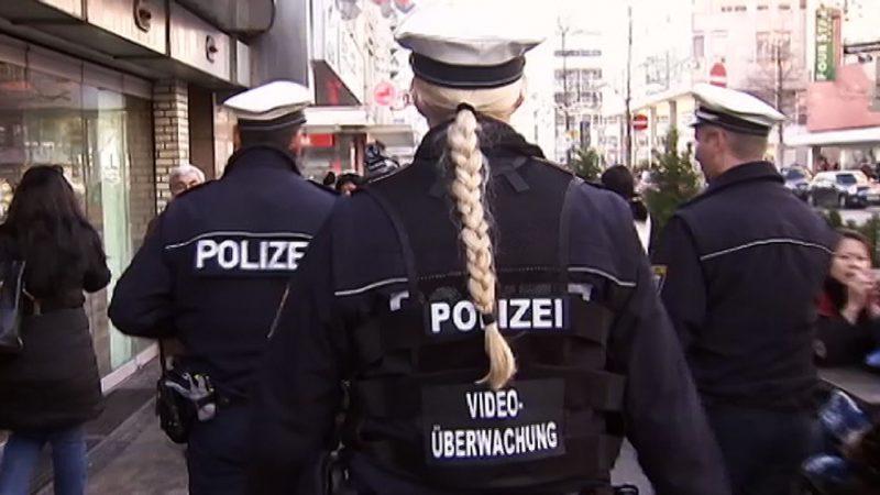 BodyCams: Bundespolizei testet ab heute (Foto: Sat.1 NRW)