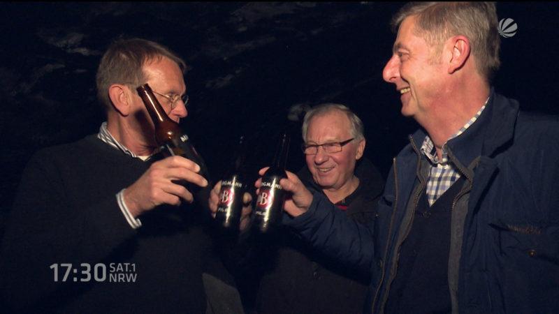 Alte Brauerei im Keller entdeckt (Foto: SAT.1 NRW)