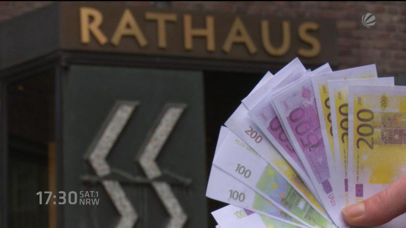 Düsseldorf muss Schulden machen (Foto: SAT.1 NRW)