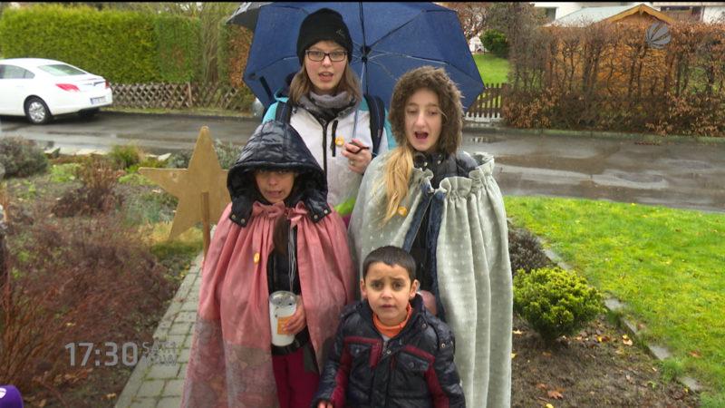 Muslimische Flüchtlingskinder als Heilige drei Könige (Foto: SAT.1 NRW)