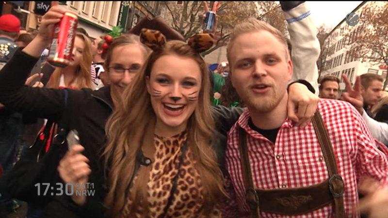 Sicherheit im Karneval (Foto: SAT.1 NRW)