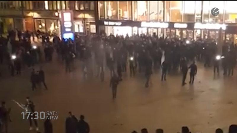 Immer mehr Silvester-Opfer in Köln (Foto: SAT.1 NRW)