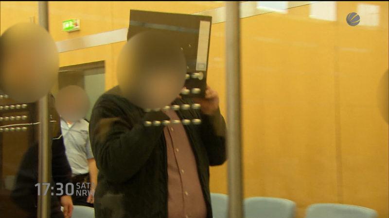 Prozess gegen Syrien-Rückkehrer (Foto: SAT.1 NRW)