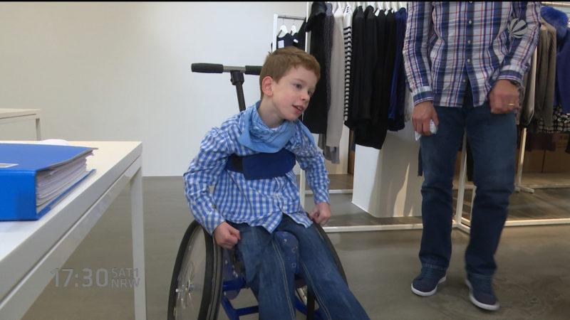 Hilfe für Schwerbehinderten (Foto: SAT.1 NRW)