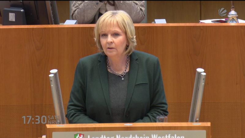 Sondersitzung im Landtag (Foto: SAT.1 NRW)