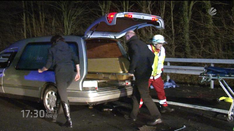 Gaffer stellt tödlichen Unfall auf Facebook (Foto: SAT.1 NRW)