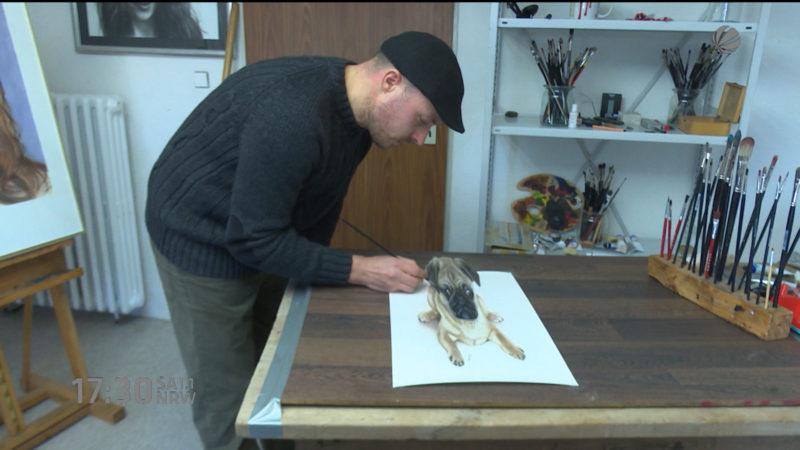 3D-Künstler aus Minden (Foto: SAT.1 NRW)