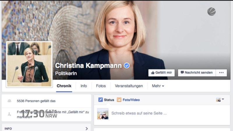 100 Tage im Amt - Die neue NRW-Familienministerin (Foto: SAT.1 NRW)