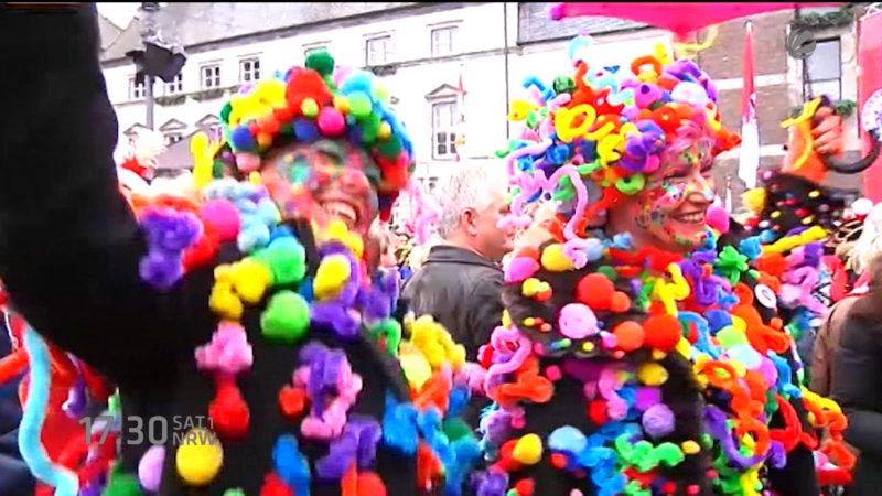 Karnevalszug wegen Flüchtlingen abgesagt (Foto: SAT.1 NRW)