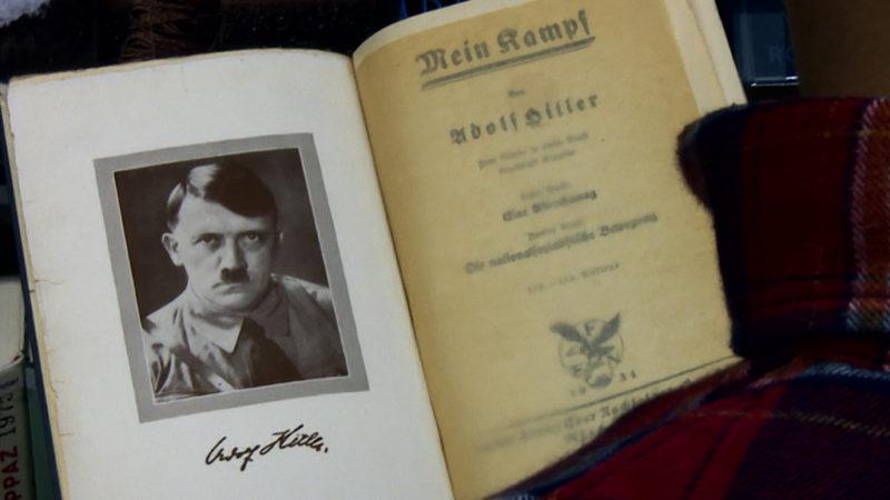"""Hitlers """"Mein Kampf"""" wird veröffentlicht (Foto: SAT.1 NRW)"""