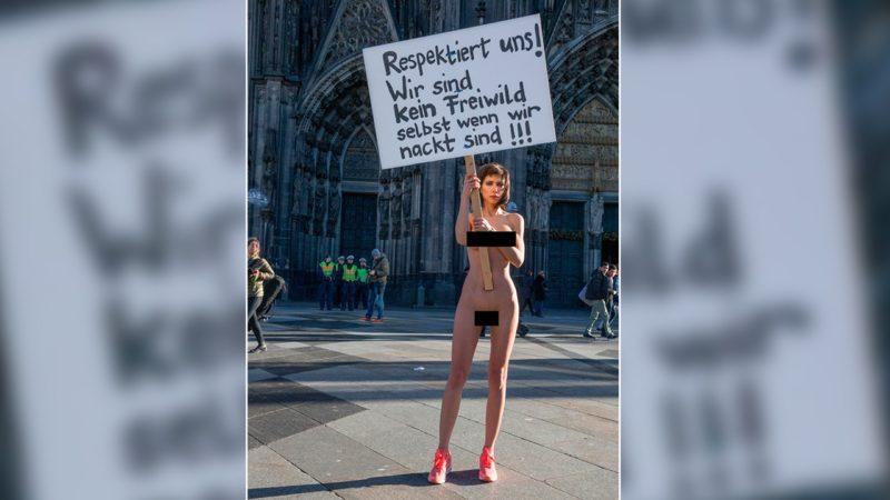 Nacktprotest wird zur Gefahr (Foto: http://www.milomoire.com)
