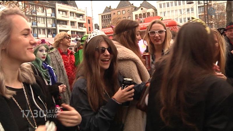 Sicherheit an Karneval (Foto: SAT.1 NRW)